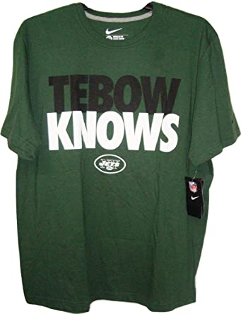 Nike NFL New York Jets Tebow Knows Men's Tee Shirt
