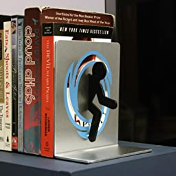Portal 2 bookends home kitchen - Portal book ends ...