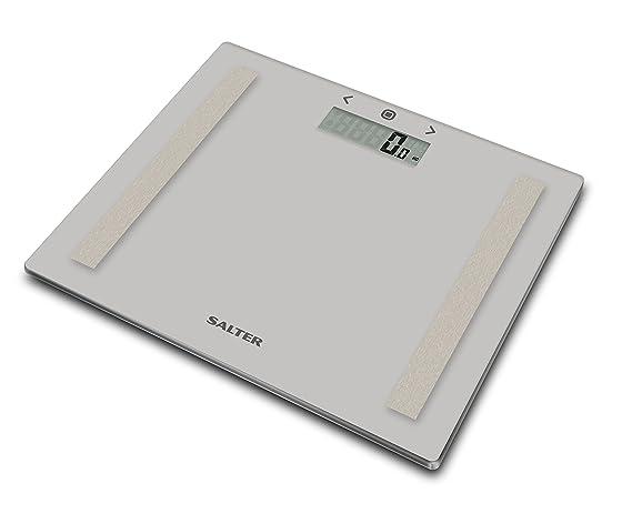 Salter Báscula de baño analítica, Cálculo del IMC, Modo atleta, Capacidad 150 kg, Gris: Amazon.es: Salud y cuidado personal