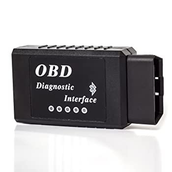 OxGord® Bluetooth OBD II OBD2 Reader Scan Tool - For Check Engine Light & Diagnostic Interface - 2016 Newest Technology - Android & Windows ONLY