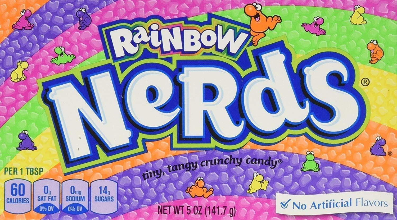 Wonka Rainbow Nerds - Theatre Box 141.7g: Amazon.es: Hogar