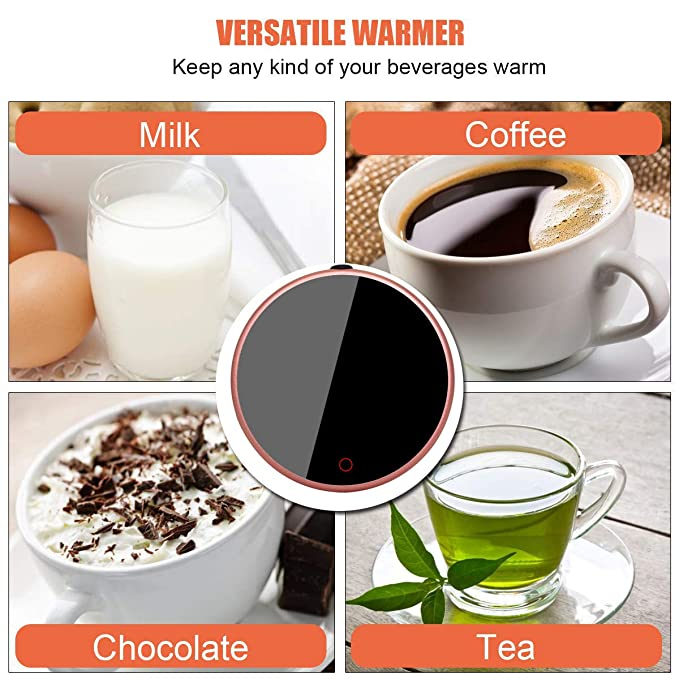 Elektrischer Tassenwärmer Tee Tassenwärmer 40℃-60℃ Neu