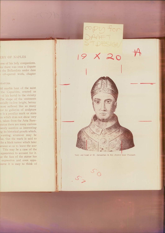Fotomax Vintage Photo of Januarius Saint.