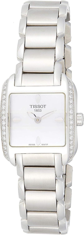 Tissot Reloj Analógico para Mujer de Cuarzo con Correa en Acero Inoxidable T02.1.385.71