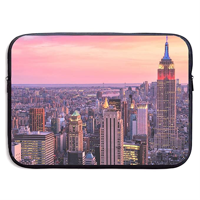 0f77414bf554 Amazon.com: New York Decor NYC Midtown Cute Laptop Bag Shoulder ...