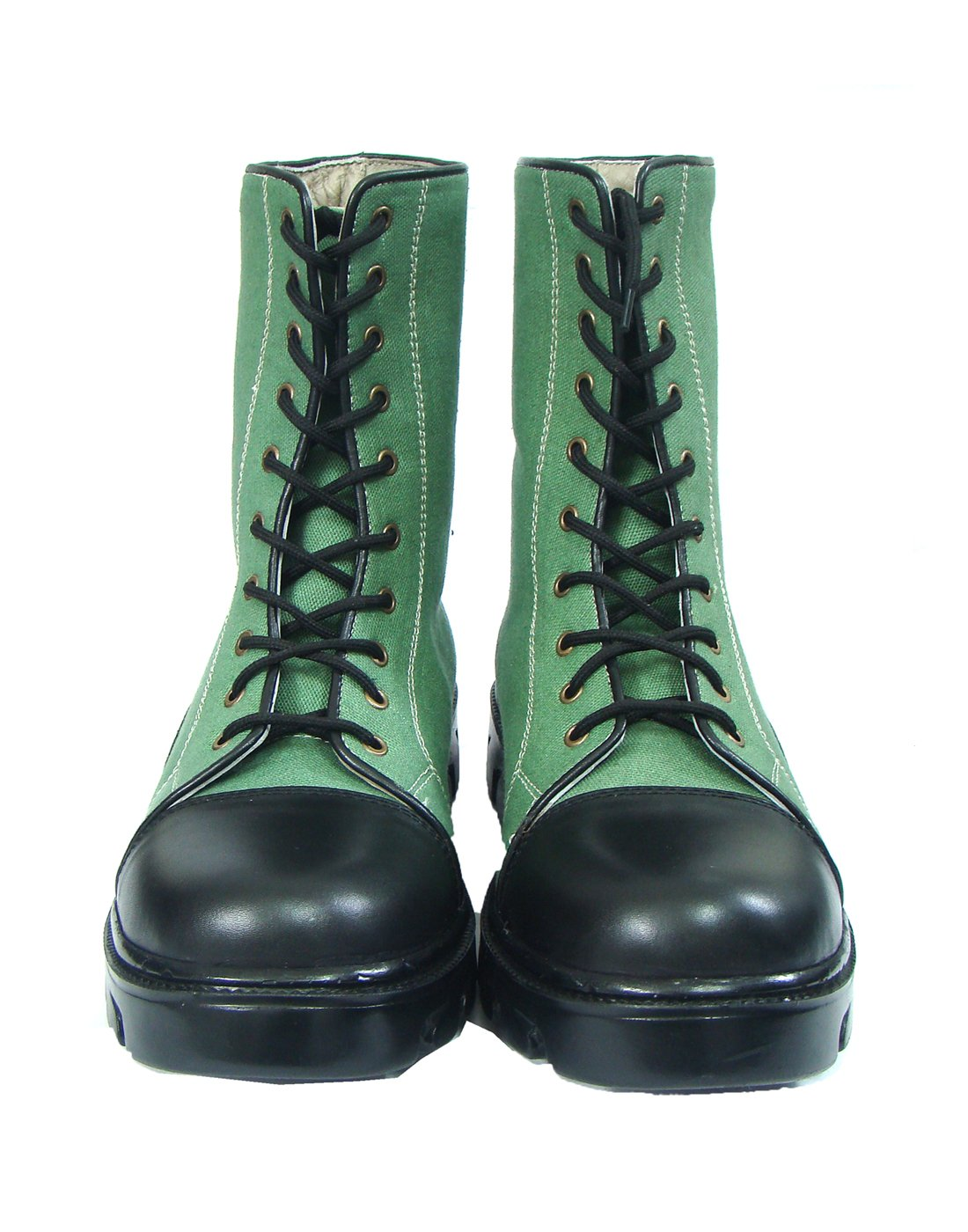 Asm Green Jungle Boots With PU Sole & Soft Leather Insoles, Fully Soft Leather Lining and PU Foot Pad For Optimum Comfort For Men. Article 604 (6)