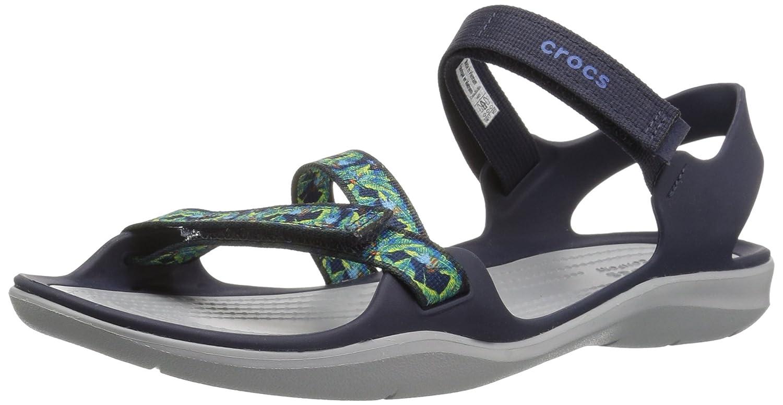 d1b66398bb2d Crocs Women s Swiftwater Webbing W Sport Sandals 204804-001 ...
