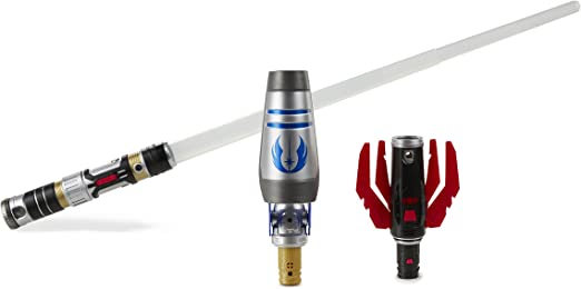 Amazon.com: Star Wars Bladebuilders Path of the Force Lightsaber: Toys & Games