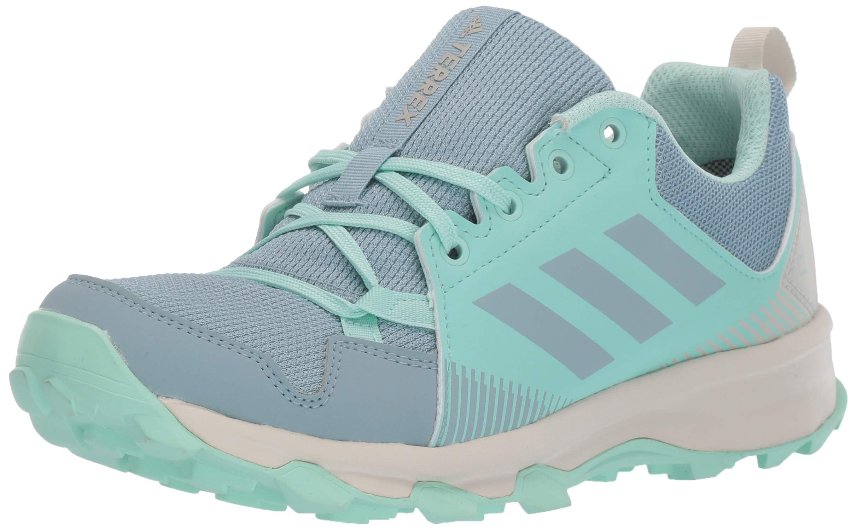 adidas outdoor Women's Terrex Tracerocker GTX Trail Running Shoe, ASH Grey/Clear Mint, 10 M US by adidas outdoor