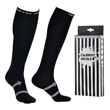 EveShine Calcetines de compresión para Hombres y Mujeres, Calcetines de Correr para Deportes, Calcetines Ultra Ligeros para Correr, Ciclismo, ...