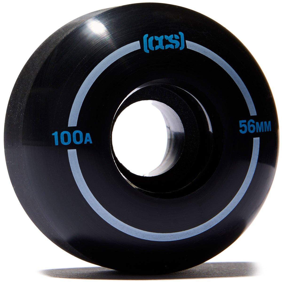 CCS Skateboard Wheels - Multiple Colors (Black, 56mm) by CCS