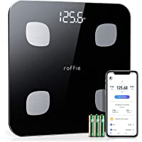 Roffie Smart Digital Bathroom Scale for Body Weight