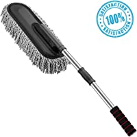 PACC MAN Car Cleaning Microfiber Round Shaped Duster For All Cars