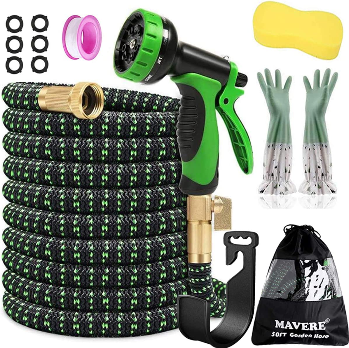 Expandable Garden Hose 50ft x 3/4