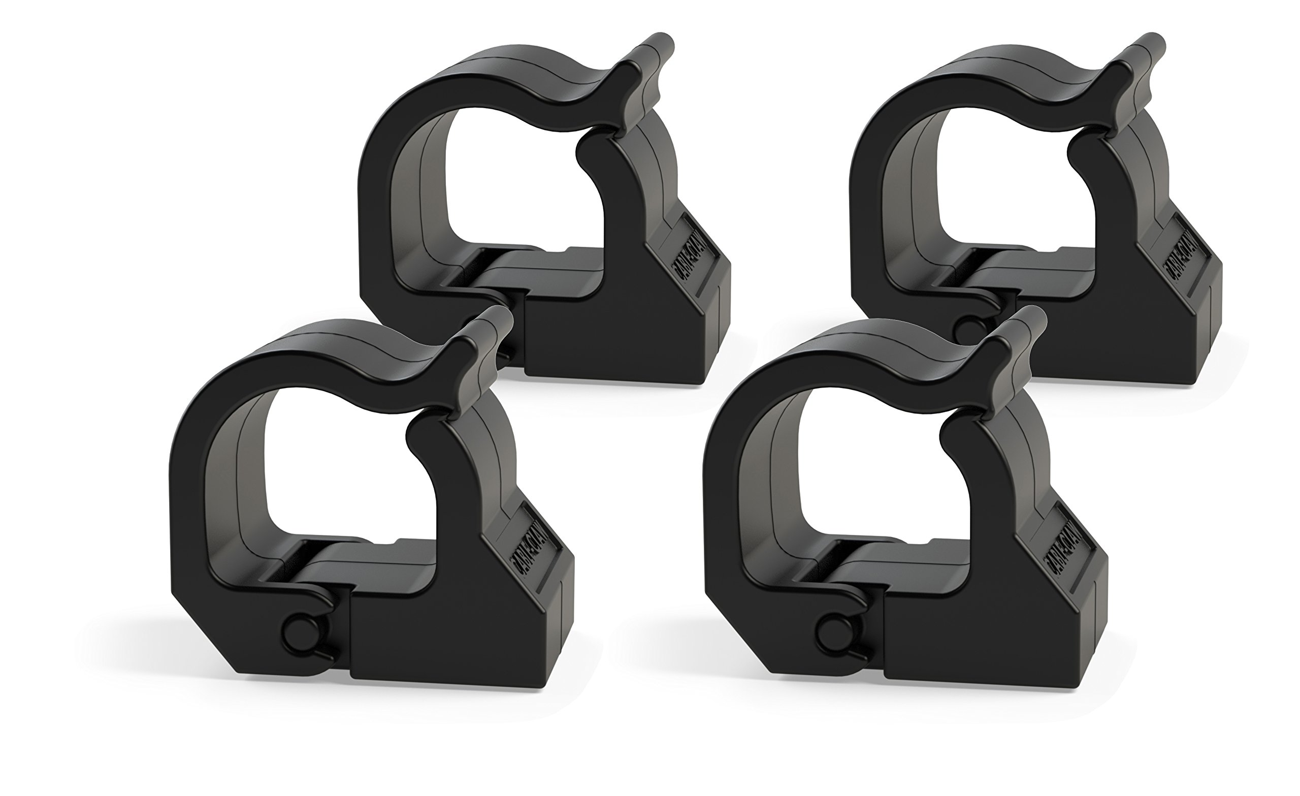 Task-Mag Magnetic Cable Claw. Organize Cables with a Snap. Holds up to 2.45lbs of cables. (Pack of 4)