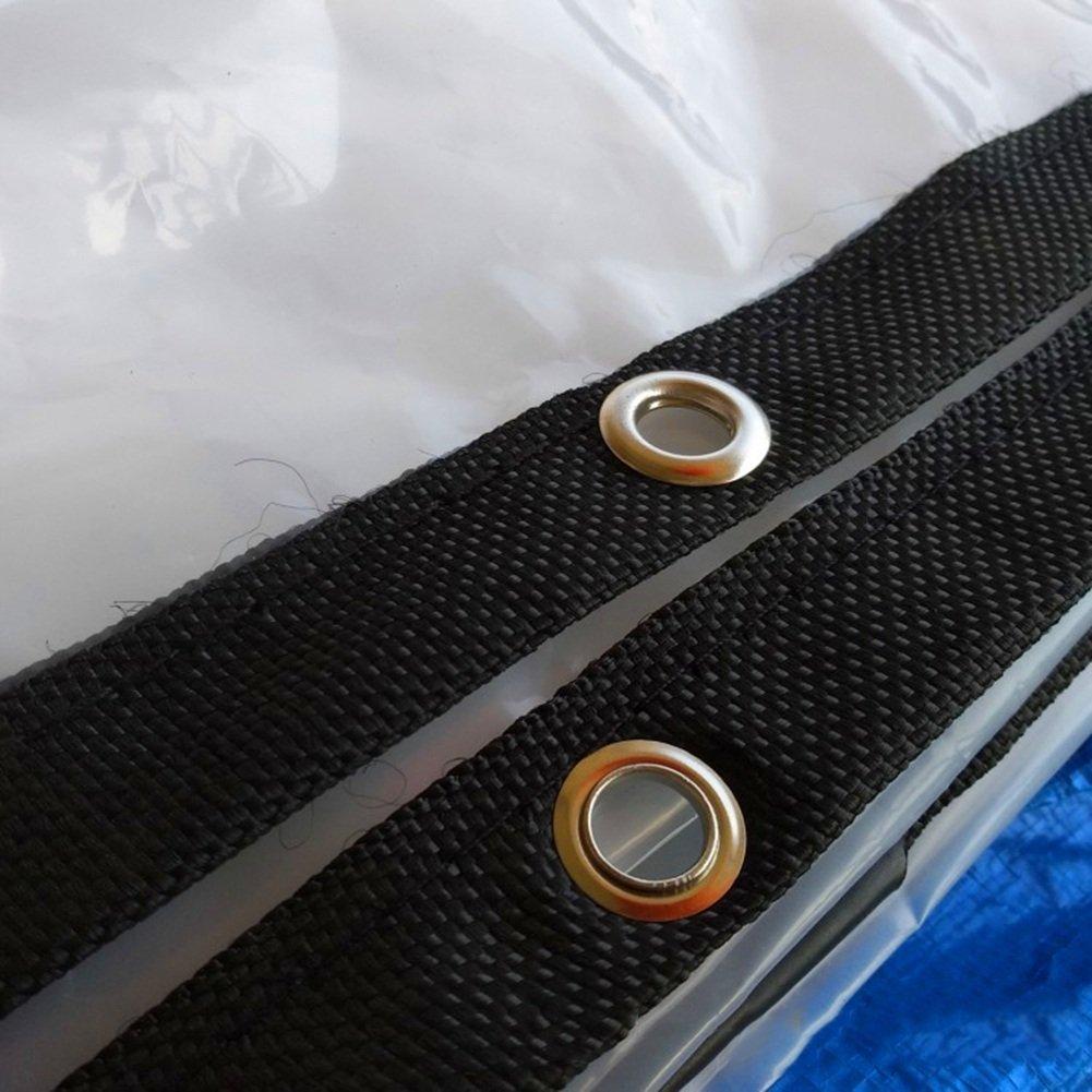 QX pengbu pengbu pengbu IAIZI Telo parafango per Parabrezza Antipioggia Trasparente a Strati di Copertura per Telo Antipioggia (Coloreee   Pulire, Dimensioni   4x12m) B07HD2G7S9 4x12m Pulire | marche  | Prodotti di alta qualità  | flagship store  | La Vendita Calda 4dca9f