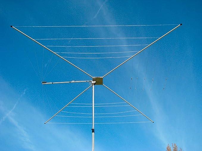 MFJ-1836 Antena de 6 Bandas 20-6M HF 1/2 Onda Cobweb ...