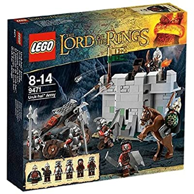 LEGO LOTR 9471 Uruk-hai Army: Toys & Games