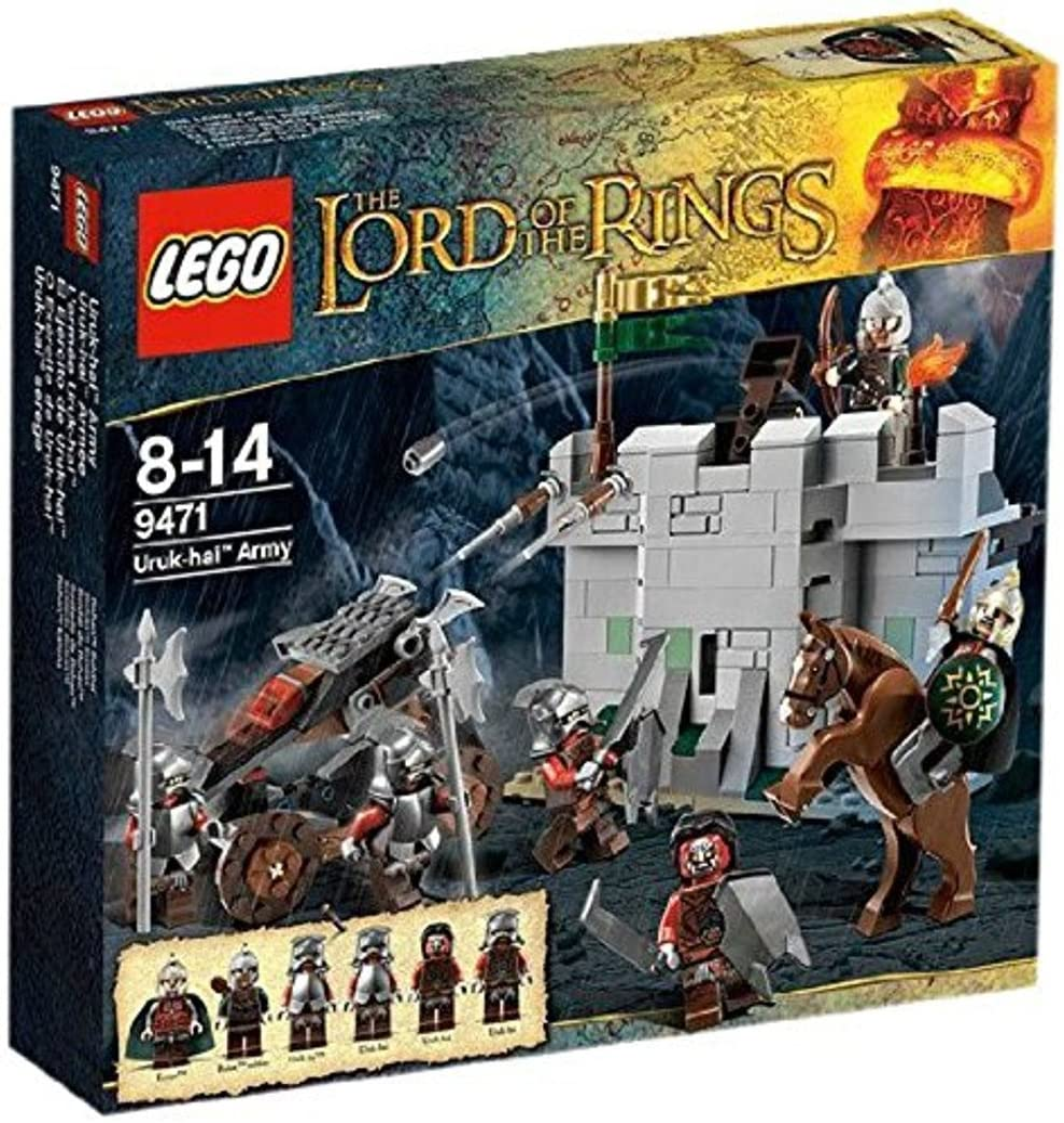LEGO LOTR 9471 Uruk-hai Army