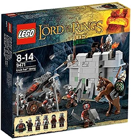 NEW LEGO Lord of the Rings LOTR 9471 Urak Uruk-Hai Army Eomer Minifigure Figure