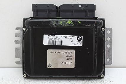 Amazon com: 02-04 Mini Cooper Engine Computer Unit 1214 7527610-01