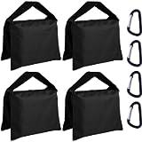 Super Heavy Duty ABCCANOPY Sandbag Saddlebag Design 4 Weight Bags for Photo Video Studio Stand,Backyard,Outdoor Patio…