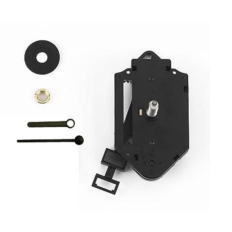 Clock-it Mecanismo péndulo de Calidad Perno Medio 16 mm para reparación, sustitución O