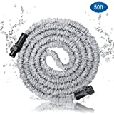 Mode Garden Hose Drinking Safe, Natural Latex Tube, Environmental ABS Connector, Strong Extra Fabric, Water Hose, 3/4 in. x 50 ft