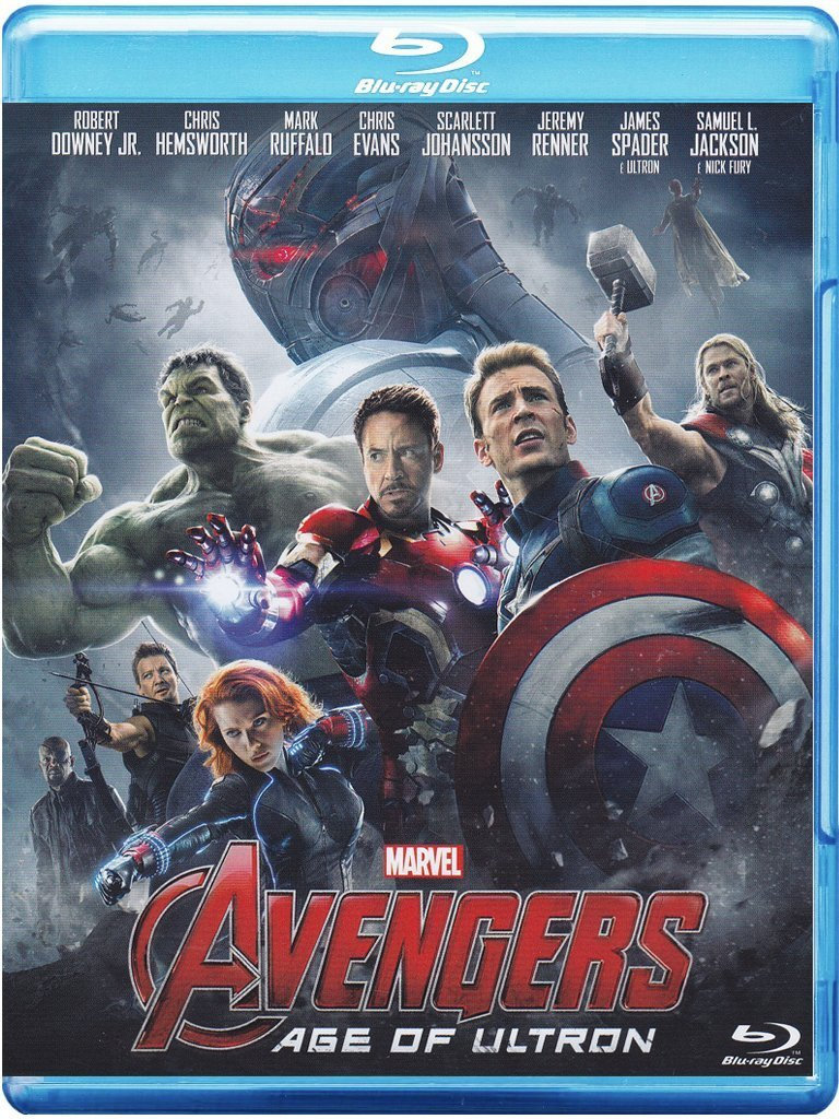 Avengers - Age Of Ultron [Italia] [Blu-ray]: Amazon.es: Cine y ...