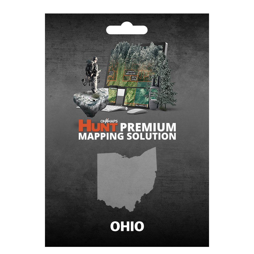 onXmaps HUNT Ohio: Digital Hunting Map For Garmin GPS + Premium Membership For Smartphone and Computer - Color Coded Land Ownership - 24k Topo - Hunting Specific Data by onXmaps (Image #1)