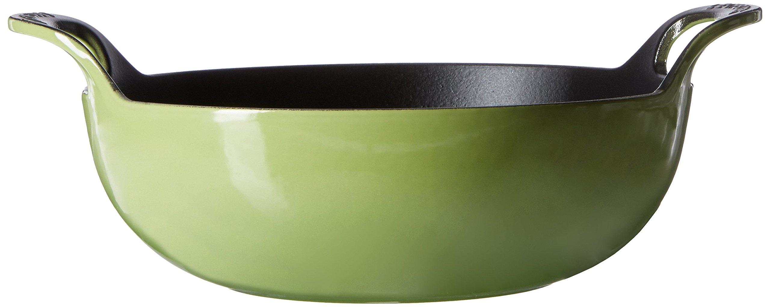 Le Creuset of America Enameled Cast Iron Balti Dish, 3-Quart, Palm