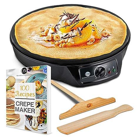 Crepe Maker Machine Pancake Griddle   Nonstick 12u0026quot; Electric Griddle    Pancake Maker, Batter