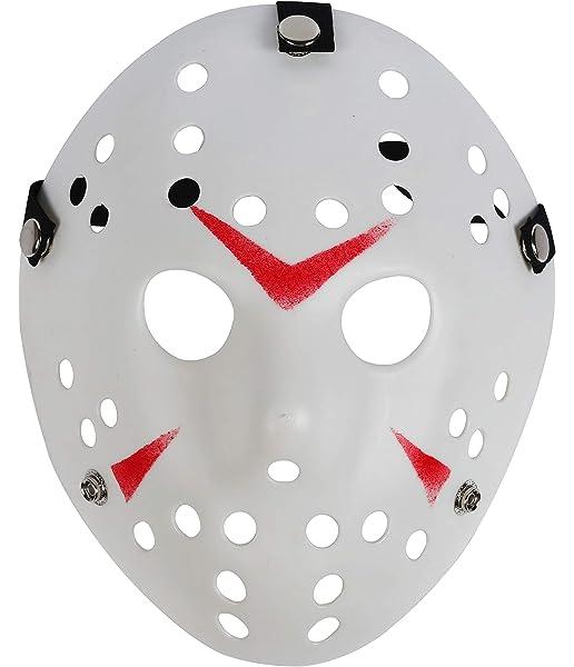cyclamen9 Jason Mask Cosplay Halloween Costume Mask Prop Horror Hockey White Mask