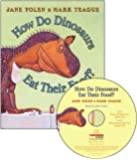 How Do Dinosaurs Eat Their Food? (Book & CD)