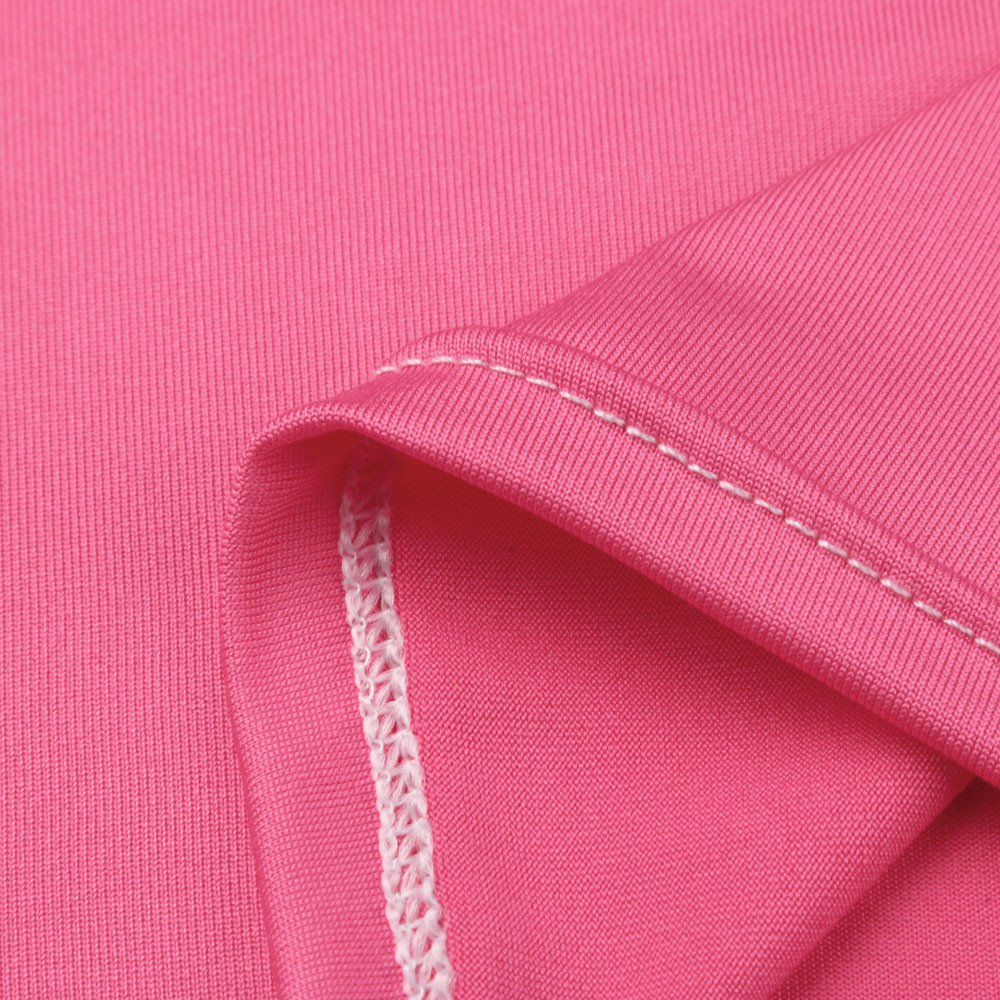 Bxzhiri_Women Tops Short Sleeve Nurse Pregnant Maternity Mother Print T-Shirt Blouse Hot Pink by Bxzhiri_Women Tops (Image #4)