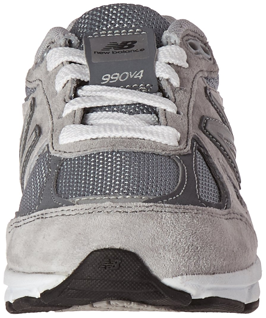 New Balance KJ990V4 Running Shoe (Little Kid/Big Kid), Grey/Grey, 1.5 M US Little Kid by New Balance (Image #4)