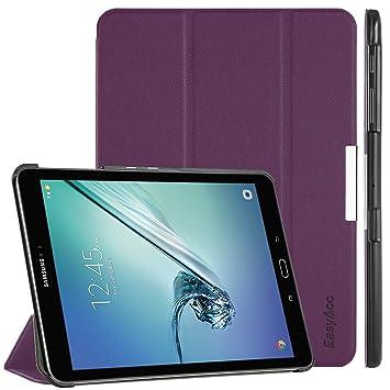 EasyAcc Hülle für Samsung Galaxy Tab S2 9.7, Smart Cover mit Standfunktion Auto Wake Up Sleep PU Leder Hüllen Kompatibel für