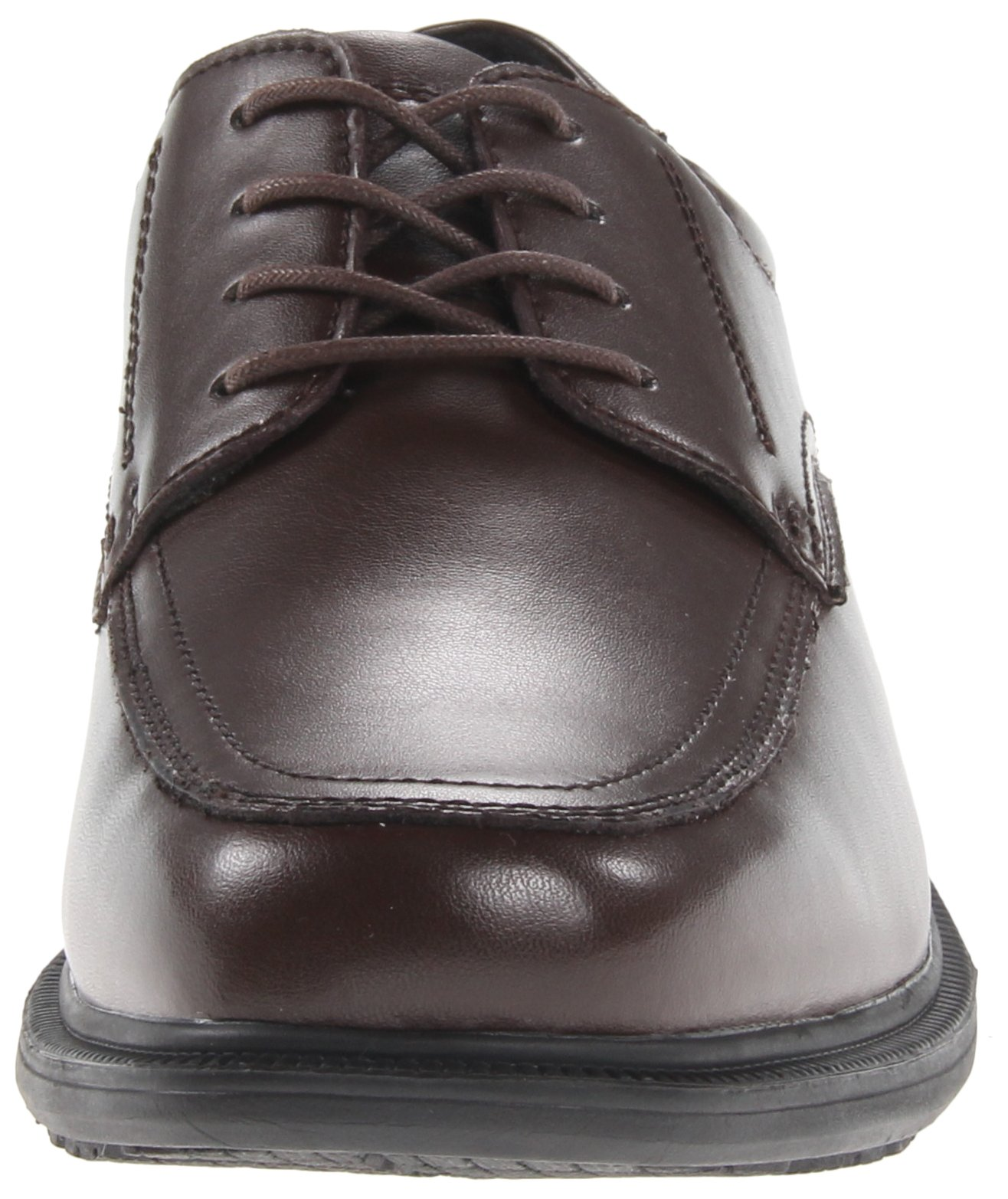 Nunn Bush Men's Bourbon Street Moccasin Toe Oxford KORE-Slip Resistant Dress Casual Lace Up