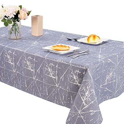 Spring Flower Outdoor Picnic Tablecloth in 3 Sizes Washable Waterproof