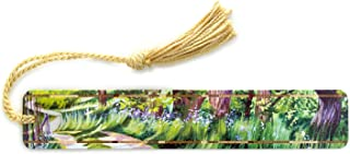 product image for Farm Road - Art by Mary Beth Ihnken - Colorful Wooden Bookmark with Tassel - Search B07QVB4CY7 for Personalized Version