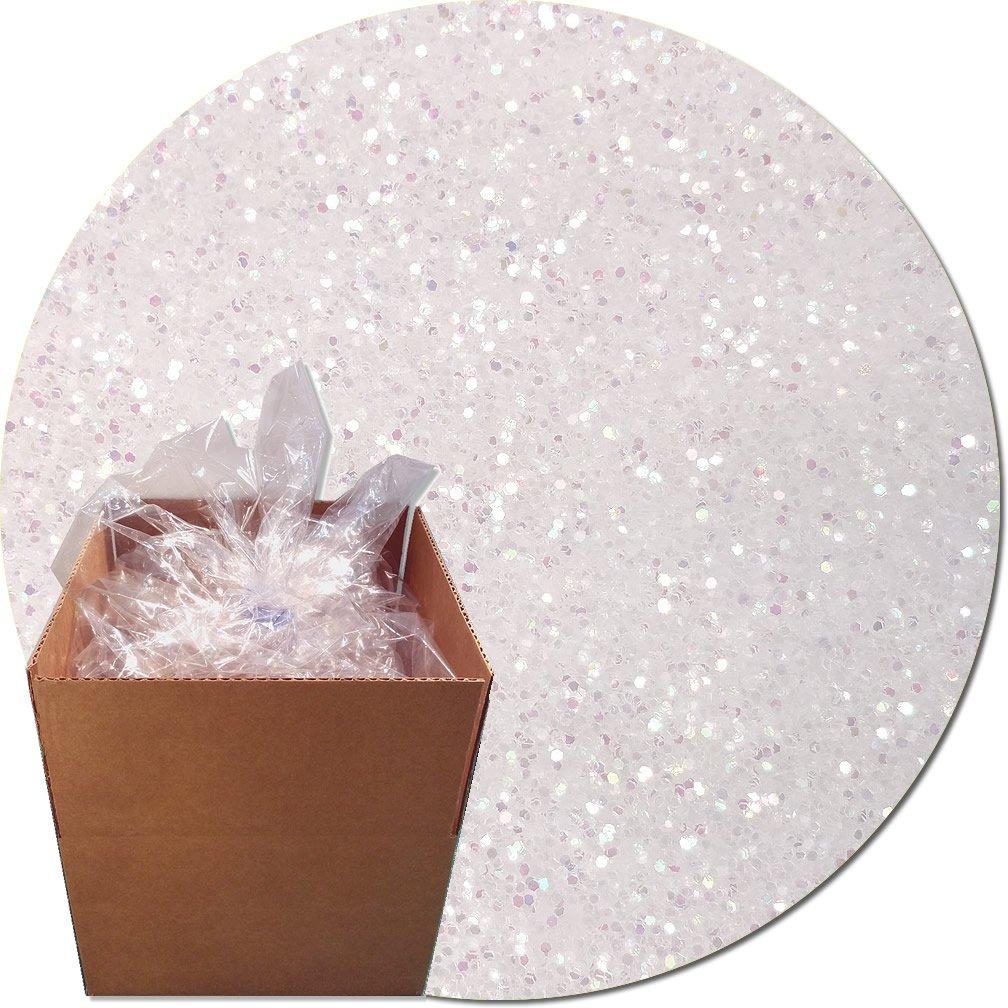Glitter My World! Craft Glitter: 25lb Box: Disco Iridescent