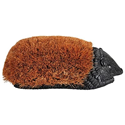 Esschert Design Giant Hedge Hog Boot Brush : Hedgehog : Garden & Outdoor