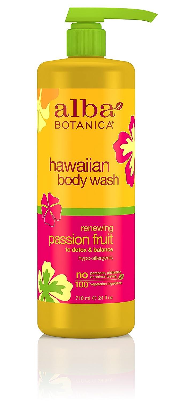 Alba Botanica Hawaiian Passion Fruit Body Wash, 24 Fluid Ounce 724742008734