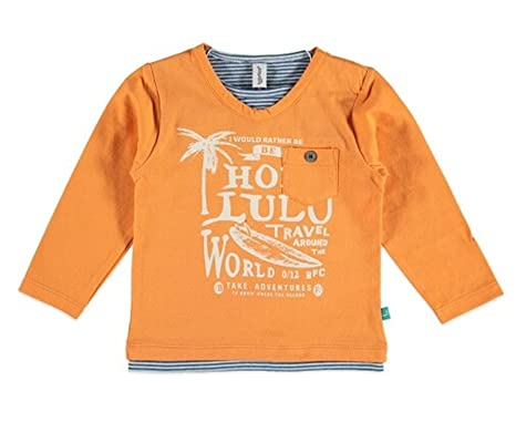e21165cc0a27 Babyface Boys' T-Shirt - Orange - 9-12 Months: Amazon.co.uk: Clothing