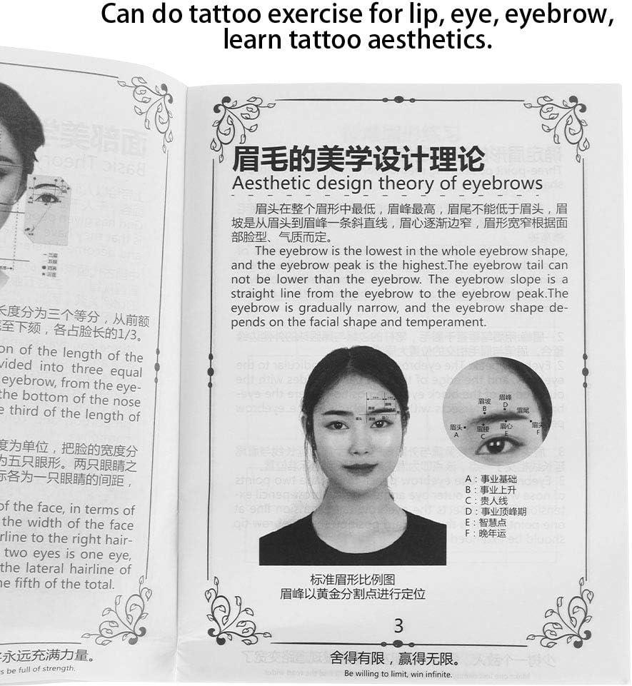 Libro de ejercicios de tatuaje, libro de ejercicios de maquillaje ...