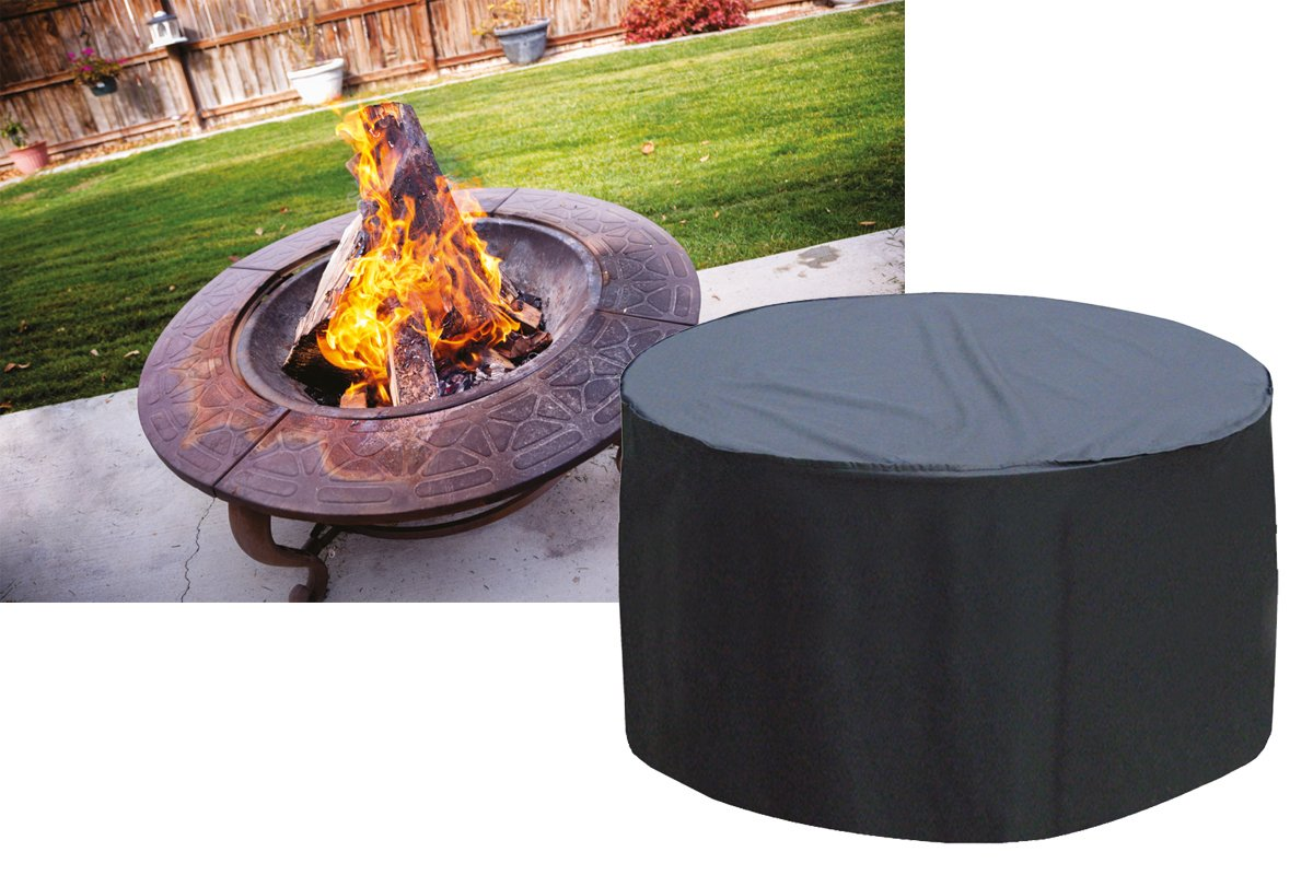 Large Firepit Cover Worth Gardening by Garland