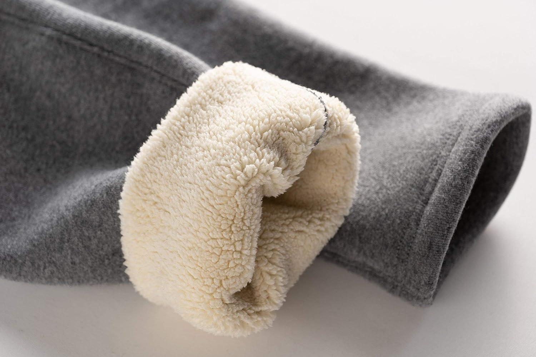 D-Star Women Velvet Warm Leggings High Waist Cotton Thicken Lambswool Legging Warm Pants