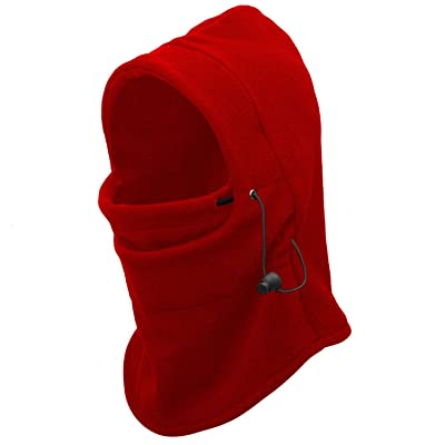 9M Clothing Company Balaclava Windproof Polar Fleece Ski Mask Cold Weather Face Mask Motorcycle Neck Warmer or Tactical Hood Ultimate Thermal Retention in Outdoors Super Comfortable Moisture Wicking