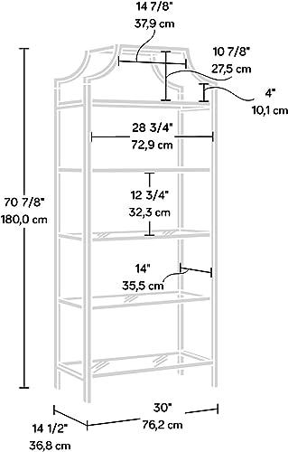 Sauder 421434 International Lux Bookcase
