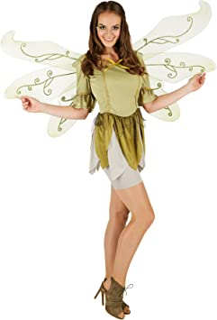 TecTake dressforfun Disfraz de Mariposa de los Bosques Mandrágora ...